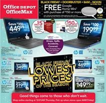 Office Depot Black Friday Ad Deals