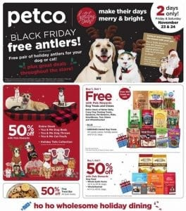 Petco Black Friday Ad 2018