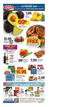 Ralphs Weekly Ad Deals Nov 7 13 2018