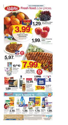 Ralphs Weekly Ad Mix and Match Sale Nov 28