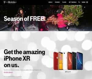 T-Mobile Black Friday Ad 2018