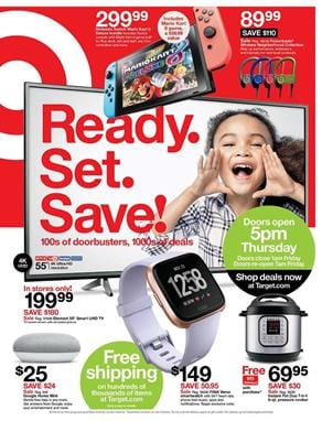 Target Ad Black Friday Early Access Doorbuster TVs