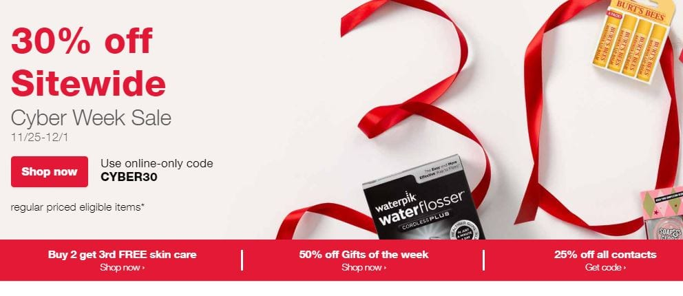 Walgreens Ad Cyber Week Sale 2018