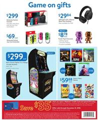 Walmart Ad Nov 2 17 2018 Game Gifts