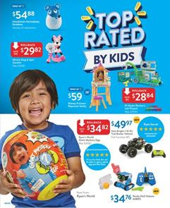Walmart Toy Book Ad 2018 Top Rated Toys