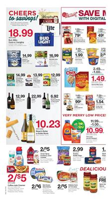 Kroger Weekly Ad Digital Coupons and Holiday Sale Dec 19 24 2018