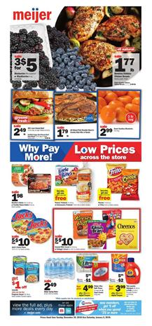 Meijer Weekly Ad Deals Dec 30 Jan 5