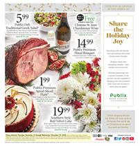 Publix Weekly Ad Holiday Sale Dec 13 19 2018