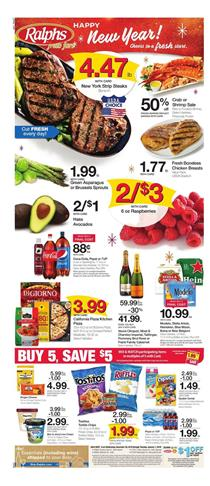 Ralphs Weekly Ad Dec 26 Jan 1 New Year Sale