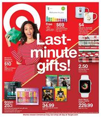 Target Ad Last Minute Christmas Gifts Dec 23 29 2018