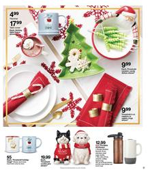 Target Weekly Ad Christmas Decoration Dec 2 8