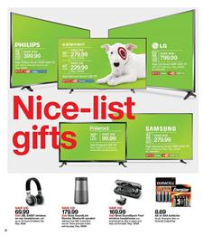 Target Weekly Ad Clothing Electronics Christmas Dec 2 8 2018