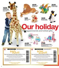 Target Weekly Ad Holiday Toys Dec 9 15 2018
