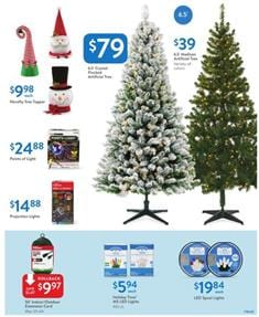 Walmart Ad Holiday Decoration Deals December 2018