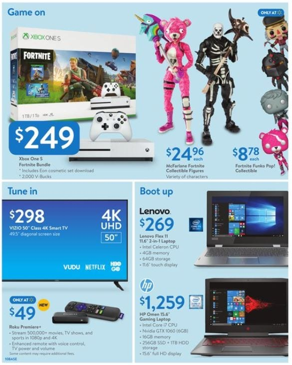 Walmart Ad Home Products Holiday Nov 30 Dec 15 2018 Electronics