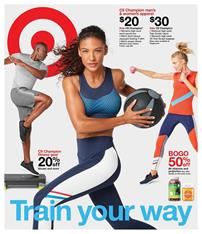 Target Ad Sports Wear Jan 6 12 2019