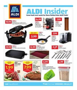 ALDI Insider Ad Deals Feb 27 Mar 5 2019
