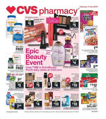 CVS Weekly Ad Snack Deals Feb 17 23 2019
