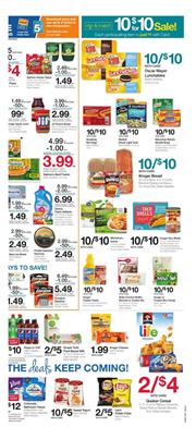 Kroger Weekly Ad 10 for 10 Deals Feb 13 19 2019