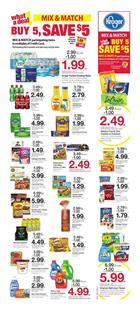 Kroger Weekly Ad Mix and Match Sale Feb 20 26 2019