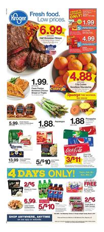 Kroger Weekly Ad Mix and Match Sale Feb 27 Mar 5 2019