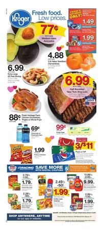 Kroger Weekly Ad Valentines Day Feb 13 19 2019