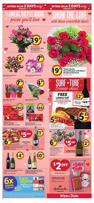 Winn Dixie Ad Valentines Day Gifts Feb 13 19 2019