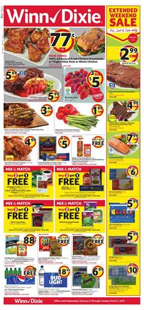 Winn Dixie Weekly Ad Grocery Sale Feb 27 Mar 5 2019