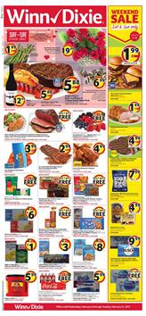 Winn Dixie Weekly Ad Valentines Day