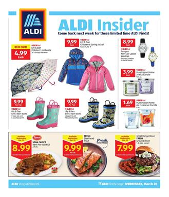 ALDI Insider Ad Deals Mar 20 26 2019