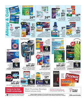 CVS Weekly Ad Pharmacy Mar 24 30 2019