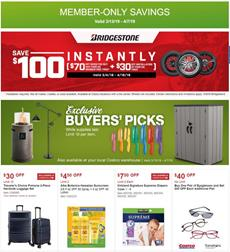 Costco Ad March Savings Member Only
