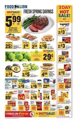 Food Lion Weekly Ad Mar 13 19 2019