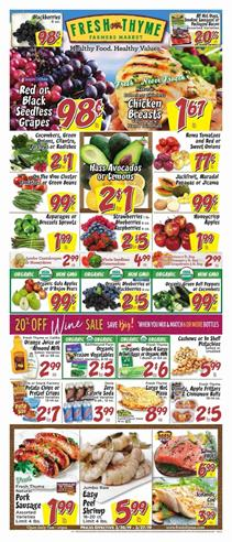Fresh Thyme Ad Deals March 2019