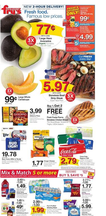 Frys Weekly Ad Grocery Sale Mar 27 Apr 2 2019