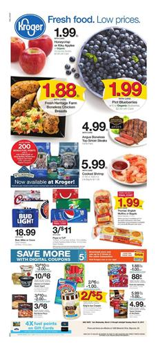 Kroger Weekly Ad Digital Coupons Mar 13 19 2019