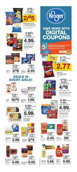 Kroger Weekly Ad Digital Coupons Mar 6 12 2019