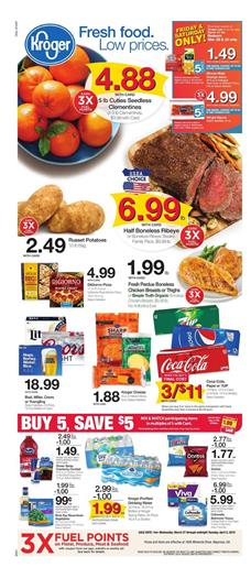 Kroger Weekly Ad Mix and Match Sale Mar 27 Apr 2 2019