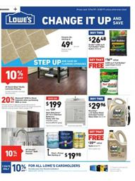 Lowes Ad Deals March 2019