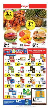 Meijer Weekly Ad Grocery Sale Mar 24 30 2019