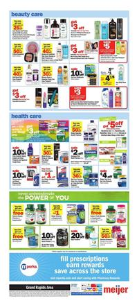 Meijer Weekly Ad Health Care Products Mar 24 30 2019