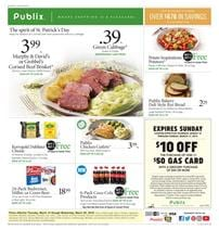 Publix Weekly Ad Grocery Sale Mar 14 20 2019
