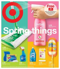 Target Ad Spring Cleaning Products Mar 31 Apr 6 2019