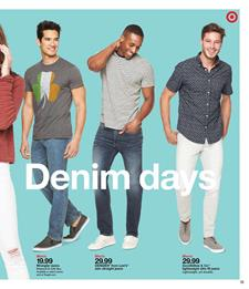 Target Weekly Ad Clothing Deals Mar 10 16 2019