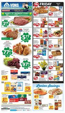 Vons Weekly Ad Deals March 2019