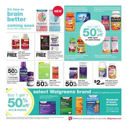 Walgreens Ad Pharmacy Sale Mar 24 30 2019