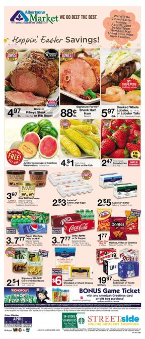 Albertsons Weekly Ad Easter Savings Apr 17 23 2019