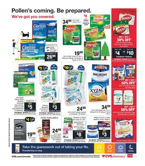 CVS Weekly Ad Pharmacy Sale Easter Apr 7 13 2019