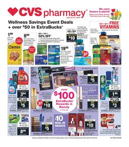 CVS Weekly Ad Preview Snack Sale Apr 21 27 2019