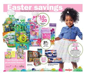 Meijer Ad Easter Toy Sale 14 21 2019